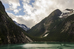 Alaskabo berg Arkivbild