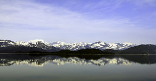 Alaskabo bergskedja Royaltyfria Bilder