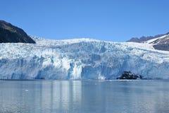 Alaskabo glaciär arkivfoto