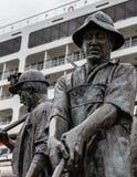 Alaskabo gruvarbetare Arkivbild