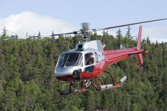 alaskabo helikopterserie Royaltyfria Bilder