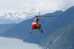 alaskabo helikopterserie Royaltyfri Fotografi