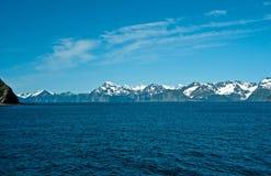 Alaskabo kustlinje Fotografering för Bildbyråer