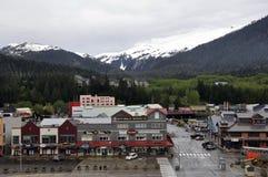 Alaskabo stad Arkivbilder