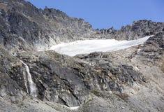 Alaskabon landskap Arkivbild