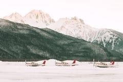 Alaskan airport Royalty Free Stock Photos