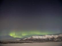 Alaskan Aurora. Stock Photos