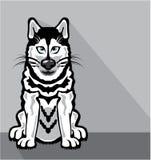Alaskan Dog cartoon Stock Photos