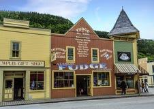 Alaskan Fudge Company royalty free stock photography