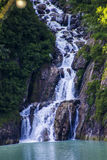 Alaskan Glacial Fall Stock Photo