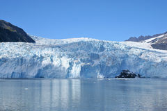 Alaskan Glacier Stock Photo