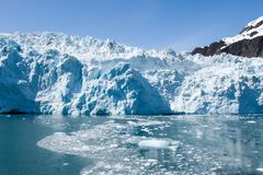 Alaskan glaciers Royalty Free Stock Photography