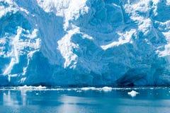 Alaskan glaciers Stock Image