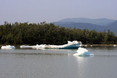 Alaskan Ice Flow Imagenes de archivo