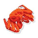 Alaskan king crab  Royalty Free Stock Photography