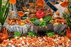 Alaskan king crab Stock Image