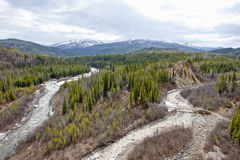 Alaskan landscape Royalty Free Stock Photo