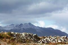 Alaskan Landscape. Dutch Harbour and Unalaska - Alaska - USA Stock Photo