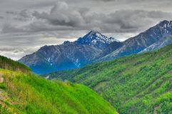 Alaskan landscape Royalty Free Stock Images