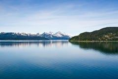 Alaskan Mountain Range stock photography