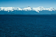 Alaskan Mountain Range Stock Image