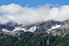 Alaskan Mountain Range Royalty Free Stock Photos