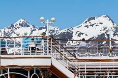 Alaskan Mountain Range Stock Photo