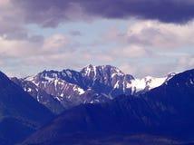 Alaskan Mountains Royalty Free Stock Photography