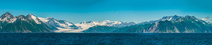 Alaskan mountains Royalty Free Stock Image