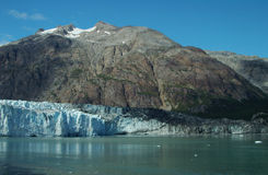 Alaskan Peak and Glacier at Prince William Sound Royalty Free Stock Photography