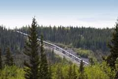 Alaskan pipeline Stock Images