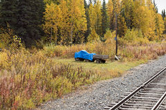 The Alaskan Railroad Stock Photography