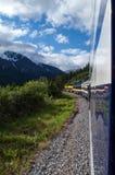 Alaskan Railway Royalty Free Stock Photo