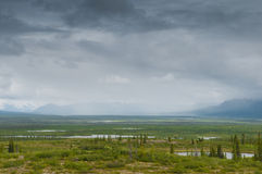 Alaskan rain Stock Photography