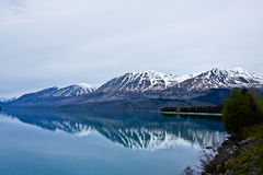 Alaskan Reflections Stock Photo