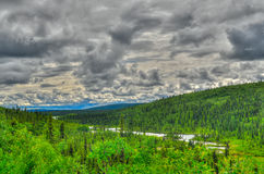 Alaskan river Stock Photography
