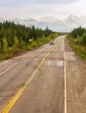 Alaskan Road Stock Photo