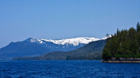 Alaskan Shoreline Stock Images