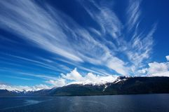 Alaskan Sky Royalty Free Stock Photography