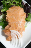 Alaskan smoked sockeye salmon Royalty Free Stock Photos