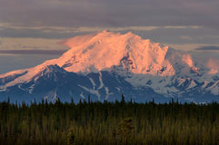 Alaskan sunset Stock Image