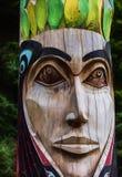 Alaskan Totem Royalty Free Stock Photos