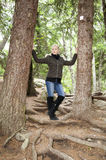On Alaskan Trail Stock Photo