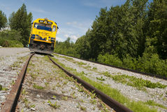 Alaskan train Royalty Free Stock Photos