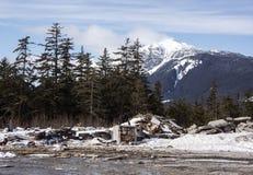 Alaskan trash dump Stock Photo