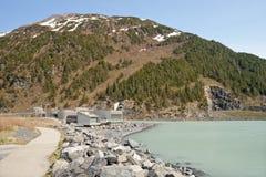 Alaskan water treatment plant Royalty Free Stock Photography