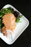 Alasken smoked sockeye salmon Stock Photo