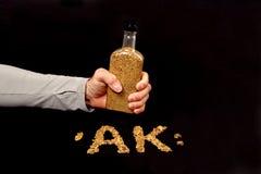 alaski złocisty ręczny Fotografia Stock