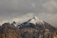 Alaskian Snow cap Mountain Range Royalty Free Stock Image