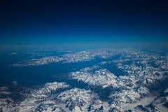 Alaskische Berge stockbilder
